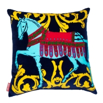 Corita Rose Cushion - Horse