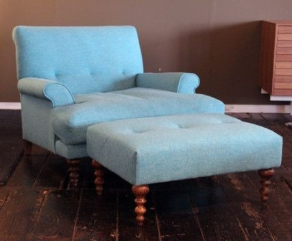 1. Oscar Armchair and Ottoman