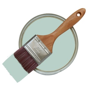 duck egg blue paint pot