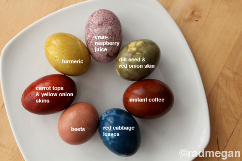 http://radmegan.com/2012/03/natural-egg-dye-a-rainbow-of-options.html