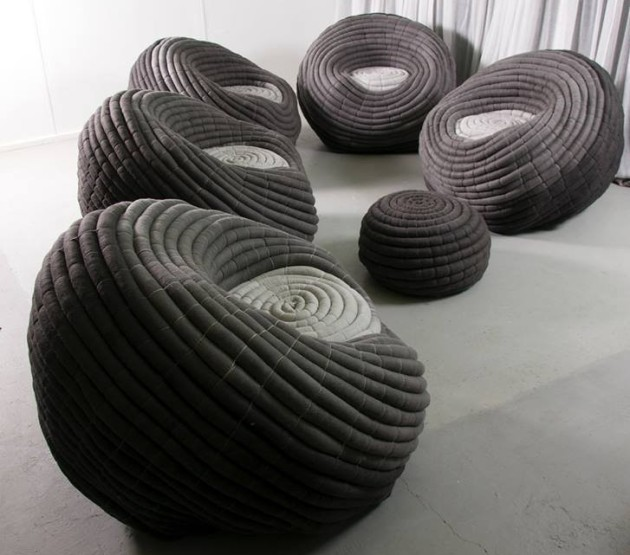 Ronel Jordaan Ndebele Chairs