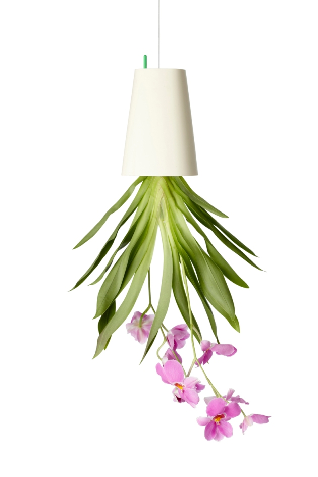 BOSKKE Sky Planter Recycled medium White Orchid