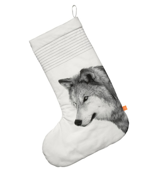 christmas stocking wolf blog