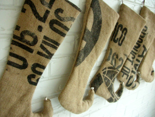stockings burlap 5